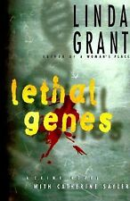Lethal Genes by Linda Grant (1996) HC Signed -Fine Cond