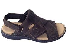 New Mens Leather Comfort Colorado Sandals/Shoes/Flip Flop Brown Sz 9/10/11/12/13