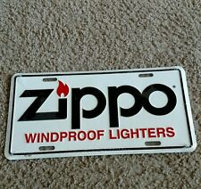 ZIPPO LICENSE PLATE Windproof Lighters NEW STILL IN PLASTIC