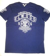 **NEW**ELWOOD**navy tshirt - sz S, XL mens RRP$59.95