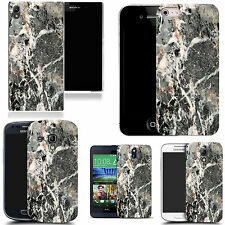 motif case cover for various Popular Mobile phones - marble pattern