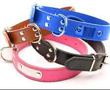 Dog Strong leather Collar, Adjustable Collar Small, Medium & Large Size New