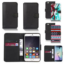 pu leather wallet case cover for apple iphone models design ref q160