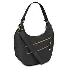 Travelon Hack-Proof Convertible Hobo Bag Purse Handbag RFID Protection Crossbody