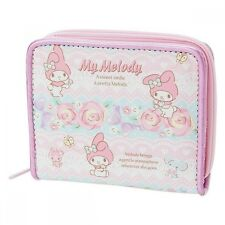 Hello Kitty My Melody Wallet Purse Card Coin Case Pouch Bag Sanrio Japan S6177