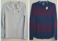 NWT AMERICAN EAGLE Men's Long Sleeve T-Shirt XS - Thermal or Thermal Henley