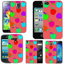 motif case cover for many Mobile phones - blush colourful falling fruit