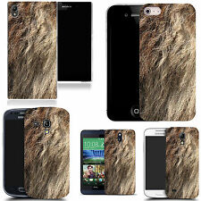 gel case cover for many mobiles - traditional animal fur silicone