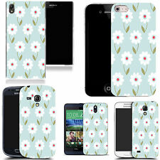 motif case cover for many Mobile phones - blue daisy mix