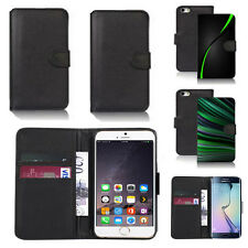 pu leather wallet case cover for apple iphone models design ref q143
