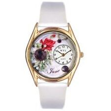 WHIM-C0910006-Whimsical Watches Womens C0910006 Classic Gold Birthstone: June W