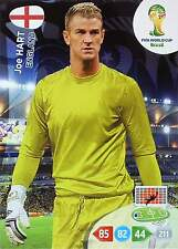 PANINI ADRENALYN WORLD CUP BRAZIL 2014 - ENGLAND Base Cards - TO CHOOSE