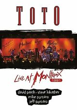 TOTO Live At Montreux 1991 DVD New & Sealed Steve Lukather AOR Rosanna Africa