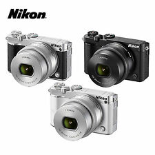 Nikon 1 J5  Mirrorless Digital Camera with 10-30mm F3.5 Zoom VR Lens