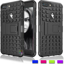 Hybrid Defender Rugged Shockproof  Kickstand Tank Case Cover for iPhone 7/7 Plus