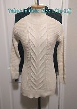 NWT $33 Old Navy Girls Teens Cable Knit Stretchy Tunic Top Sweater Dress 5 6 7 8