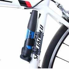 Portable Bicycle Bike Cycle Compact Pump For US FR Valve Tyre Tire Tube Inflator