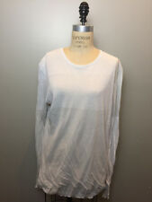 Rick Owens Size XXL Pearl Color Block Long Sleeve Sweater