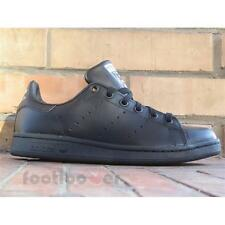Shoes Adidas Stan Smith J M20604 Boy's Black sneakers