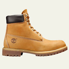 Timberland Men's 6 Inch Premium Waterproof Leather Classic Boots Shoes Wheat