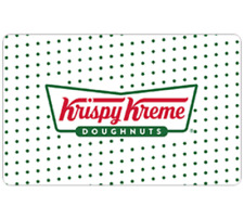 Krispy Kreme Gift Card - $25 $50 or $100 - Fast Email delivery