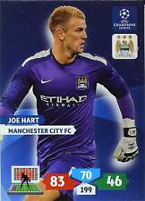 PANINI CHAMPIONS LEAGUE 2013-2014 - MANCHESTER CITY - BASE CARDS selection