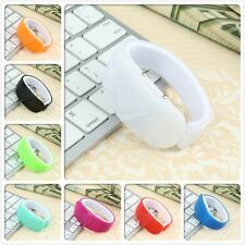 Silicone Rubber LED Bracelet Touch Digital Wrist Watch Electronic Stylish HR