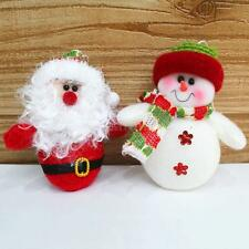 Snowman Santa Claus Xmas Tree Hanging Decoration Ornaments Pendant Doll Toy J1P8