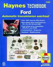Ford Automatic Transmission Overhaul New Haynes Workshop Manual Service Repair