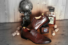 Men Leather Brogue Shoes Dress Wedding Smart Office Formal Casual Lace Up Size