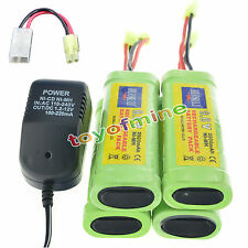 4X9.6V 2800mAh Ni-MH rechargeable battery pack NEW+charger
