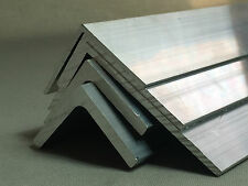 Aluminium Extruded Angle- Various Sizes - Length 2000 mm
