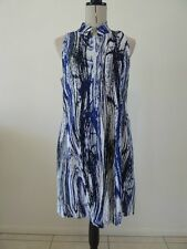 LADIES BNWT SIZE 10 YARRA TRAIL PAINTED STRIPE TUNIC TOP