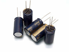 HQ Panasonic FC Radial Electrolytic Capacitors various values Low Impedance E12