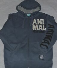 ANIMAL HOODY (EUGENIE) OMBRE GREY  MEN'S SIZE SMALL BNWT  RRP £55