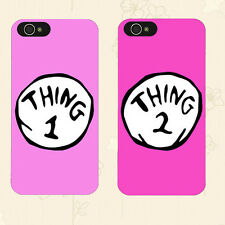 Romantic Couple Phone Case, Thing 1 & Thing 2 Protection Cover for Smart Phone