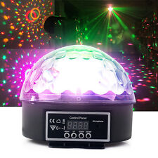 Effect Disco Light Stage DJ Laser Lights Club Party Crystal Magic Ball 6 Colours