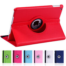 For Apple ipad 4 3 2 Tablet Case PU Leather 360° Rotate Stand Flip Folio Cover
