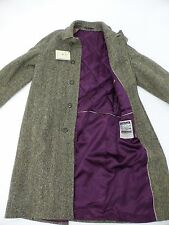 Magee Donegal Tweed Corrib Quilted Lining Overcoat