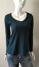 James Perse Knit Top Long Sleeve Scoop Neck Size 2,3,4 NWT