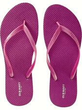 NWT Ladies FLIP FLOPS Old Navy Thong Sandals FUCSHIA PINK Shoes SIZE 8M, 11M