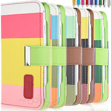 Luxury Magnetic Cover Stand Wallet Flip PU Leather Case For Apple iPhone 6S 6