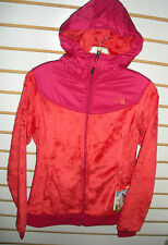 THE NORTH FACE WOMENS OSO HOODIE FLEECE JACKET-#C660-RAMBUTAN PINK - S,M,L,XL