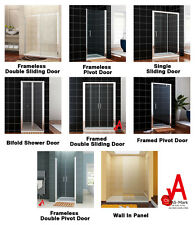 Shower Screen Door Bifold/Pivot/Sliding/Wall In Wall to Wall Various Style&Size