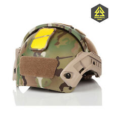 Combat Tactical Helmet-Mounted  Contrast Yellow Marker Beacon System IFF