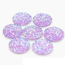 12mm Resin Round Stone Beads Flatback Resin Rhinestone for Iphone Home Key 20Pcs