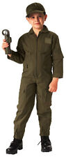 Kids Olive Drab US Air Force Style Military Flight Suit Rothco 7200