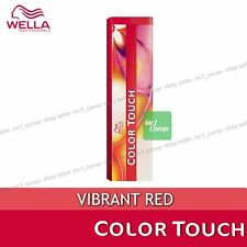 Wella Semi Permanent Hair Color Touch 60ml Dye VIBRANT Red
