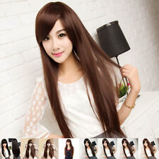 Sexy Women's Wig Long Straight Style Hair Natural Wigs Fashion Cosplay
