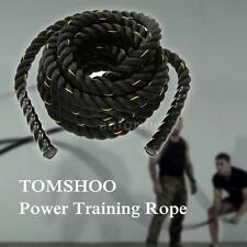 Training Battling Battle Rope Sport Exercise Fitness Power Gym Bootcamp P5Y1